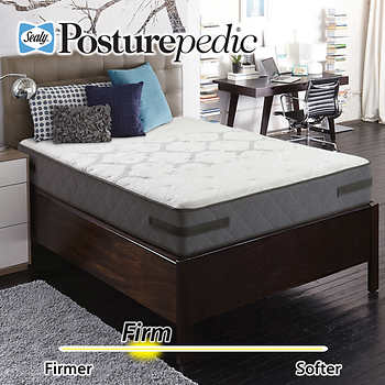 Sealy Posturepedic Aldercrest Firm Cal King Mattress ly