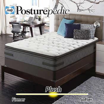 Sealy Posturepedic Aldercrest Plush Euro Pillowtop Queen
