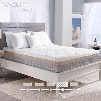 "Novaform 12"" Bella Venta Queen Gel Memory Foam Mattress"