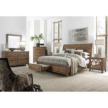 audrey 6 piece cal king storage bedroom set