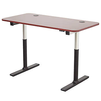 """Apex 60""""x30"""" Height Adjustable Table New Cherry"""