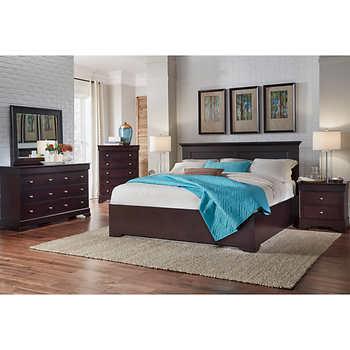 Manhattan 6 piece King Bedroom Set