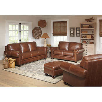 Rawling 4 piece Top Grain Leather Set
