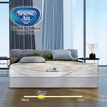 Spring Air Penny Hybrid Firm King Mattress Set