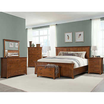 chartres 7 king bedroom set