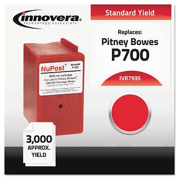 Innovera Remanufactured Pitney Bowes 7935 Red Postage