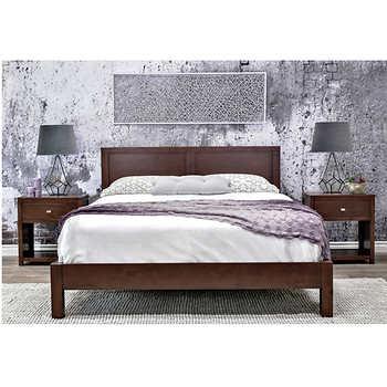 Pacifica 4 piece Queen Bedroom Set