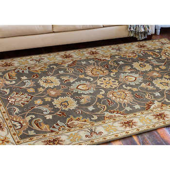 Amelia Hand Tufted 100% Wool Rug Collection