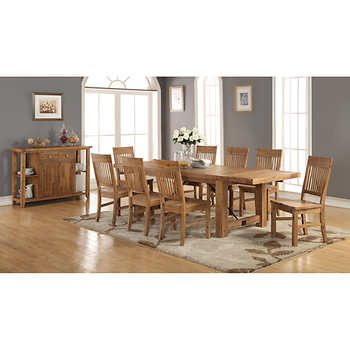 HD wallpapers costco toula dining set reviews