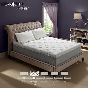 Novaform Primafina Gel Memory Foam Mattress