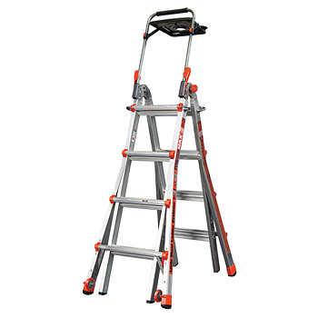 Little Giant Megamax 17 Ladder W Air Deck