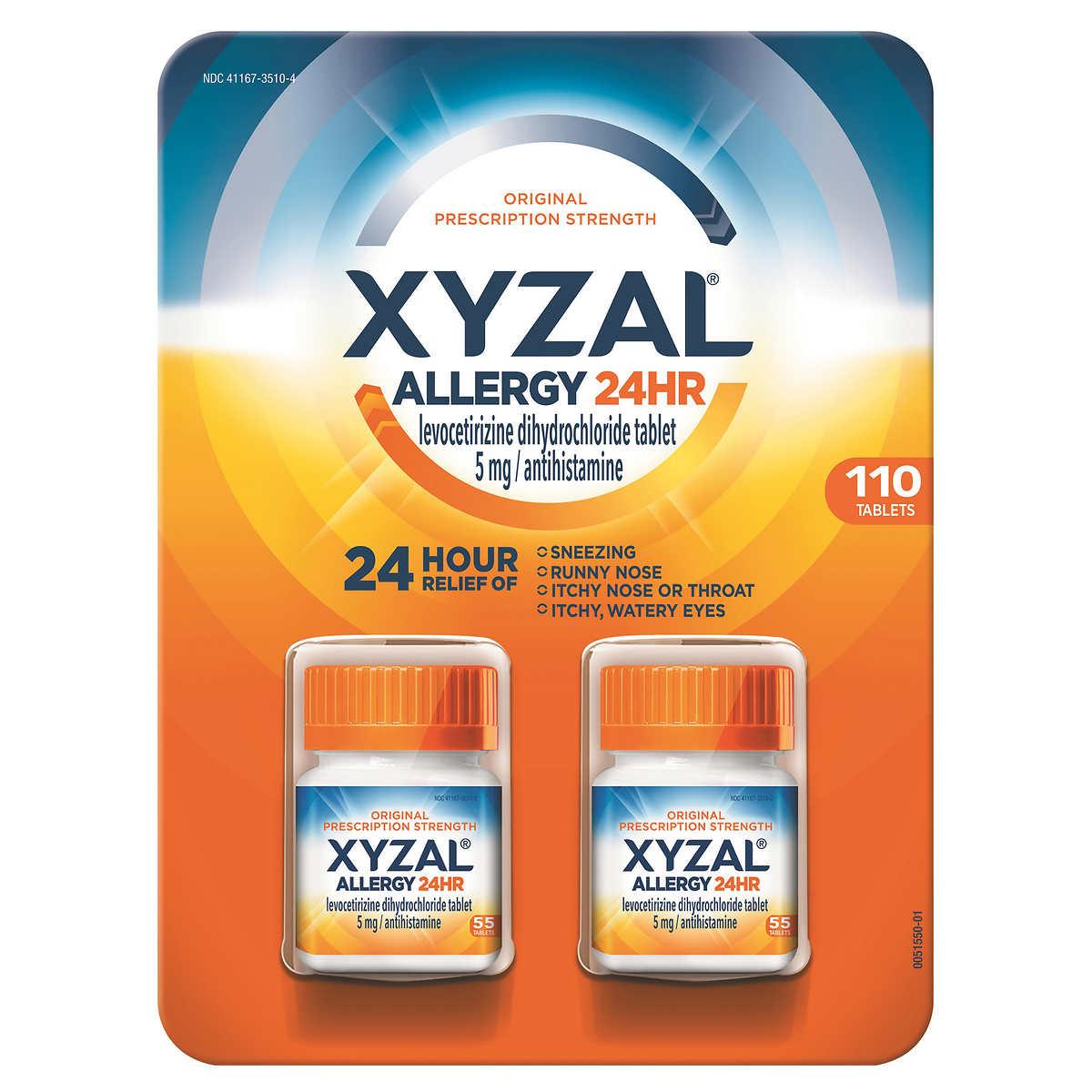 Xyzal treatment of symptoms