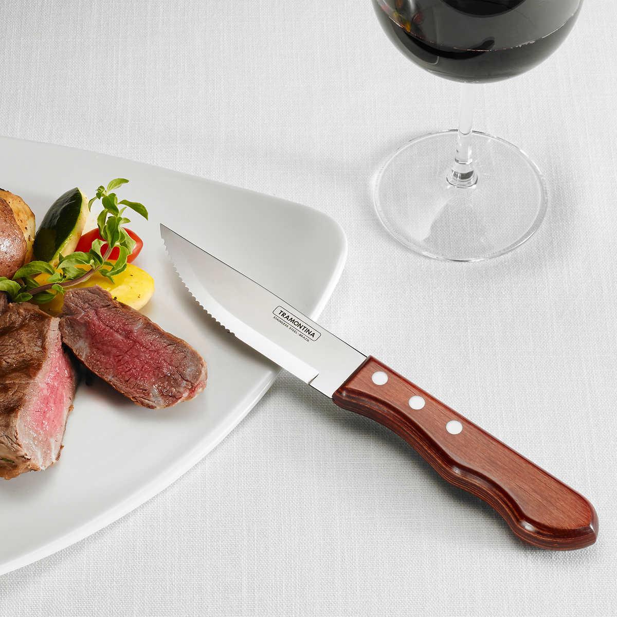 Tramontina Proline 8 Pack Steak Knife Set
