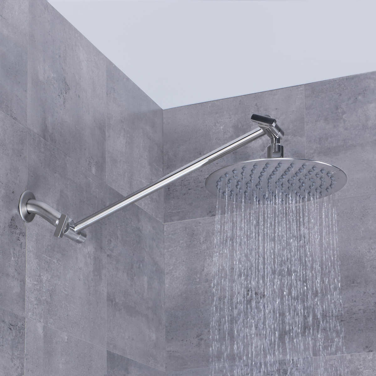 Afa Stainless 8 Rain Shower Head With Extension Arm
