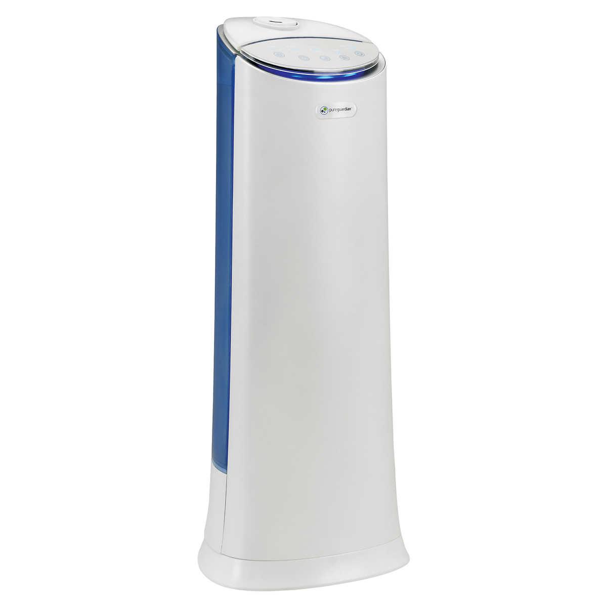 Pureguardian 100 Hour Ultrasonic Warm Cool Mist Humidifier Aroma Tray