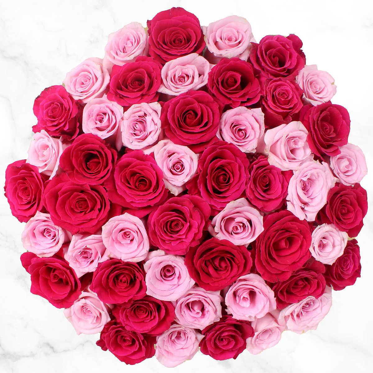 Pink Rose Flower Single Light Switch Cover Vinyl Sticker