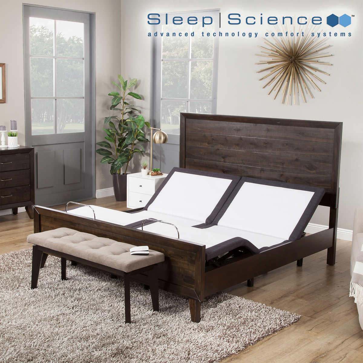 Sleep Science Q Series Adjustable Base, How Much Does A Split King Adjustable Bed Costco Cost
