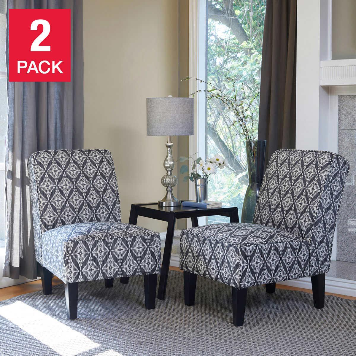 Ballard Fabric Chair 2 Pack
