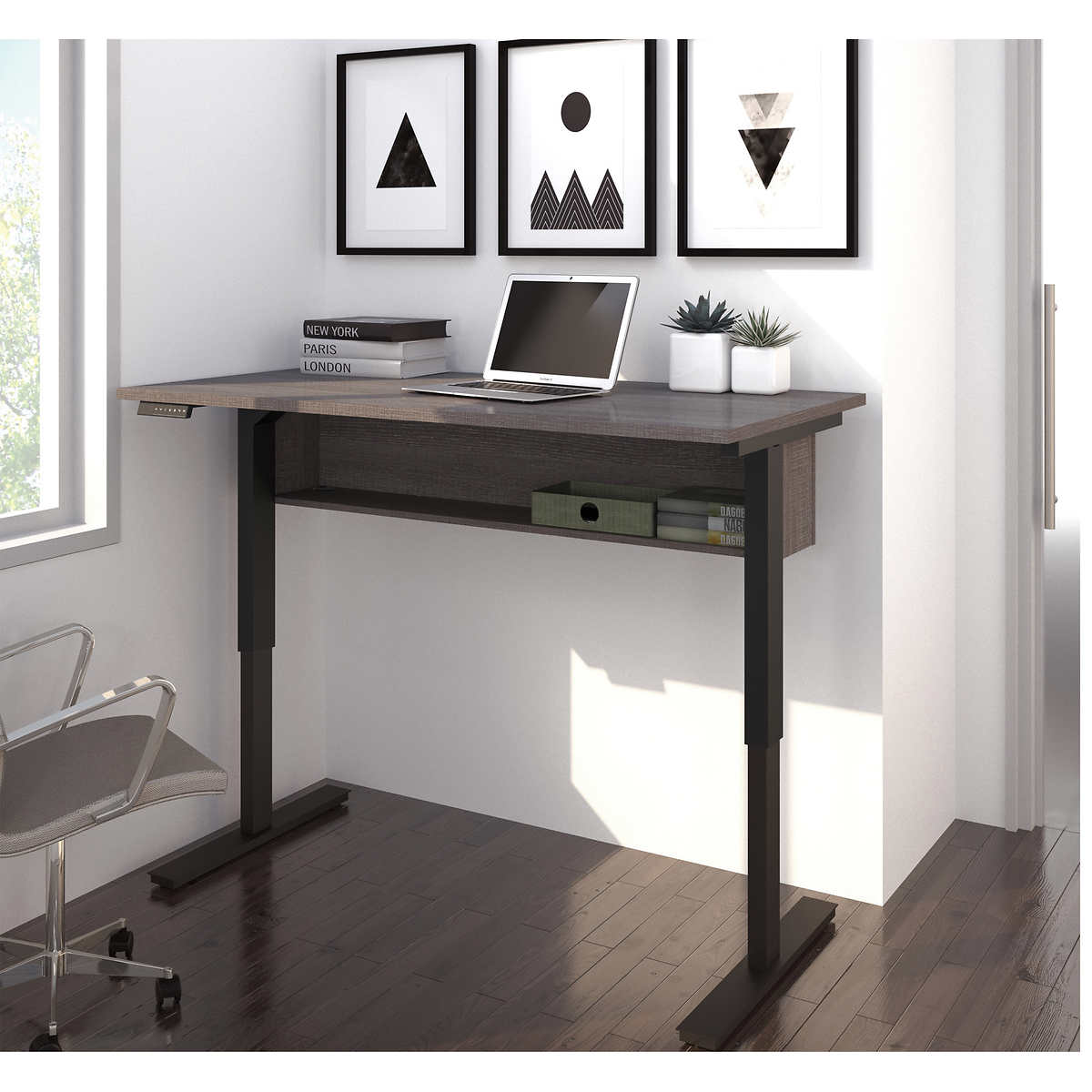 Workstation with wheels Space Solutions Portable Office Desk Home Office Collection 29.5 x 48 x 24