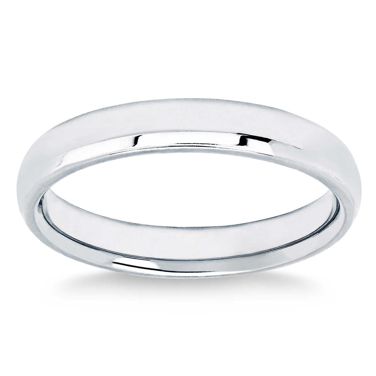 4mm Comfort Fit Platinum Wedding Ring