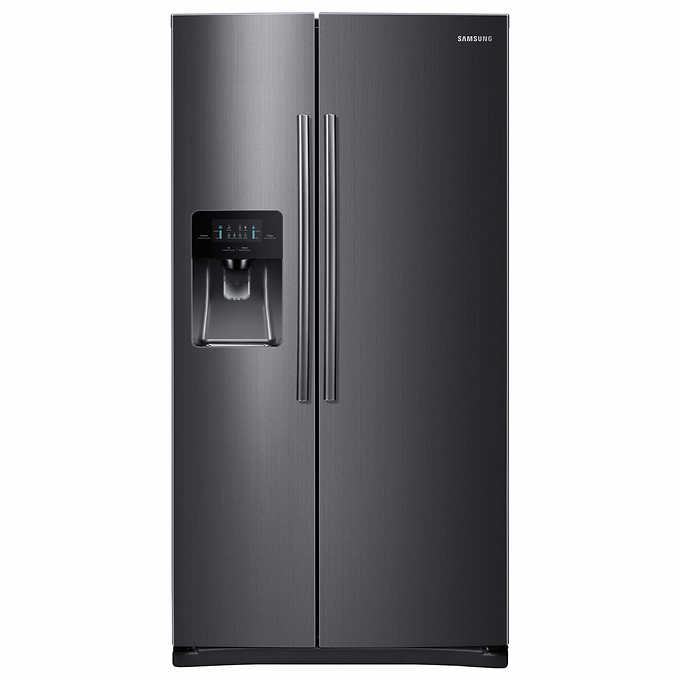 ghdonat.com Side-by-Side Refrigerator/Freezer with External Water ...