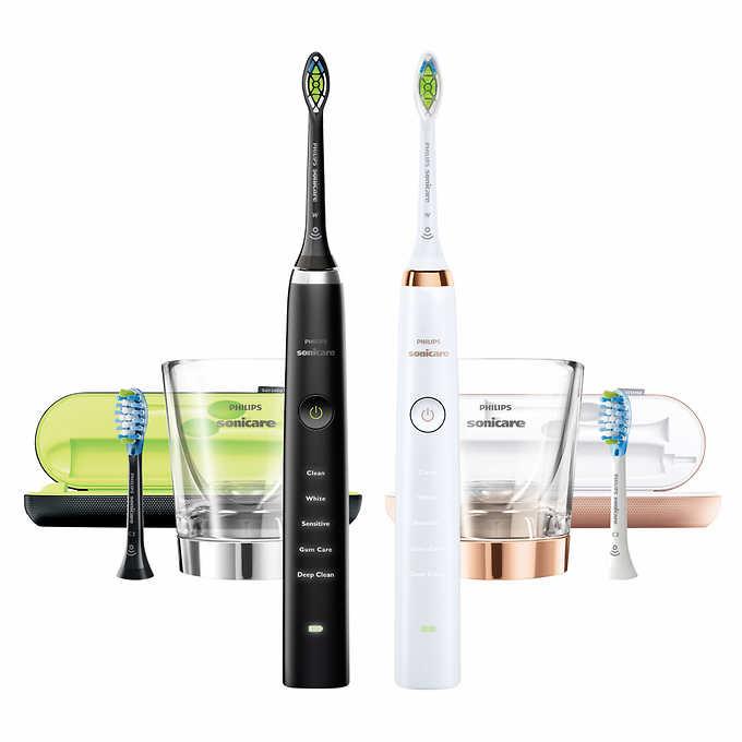diamond clean toothbrush