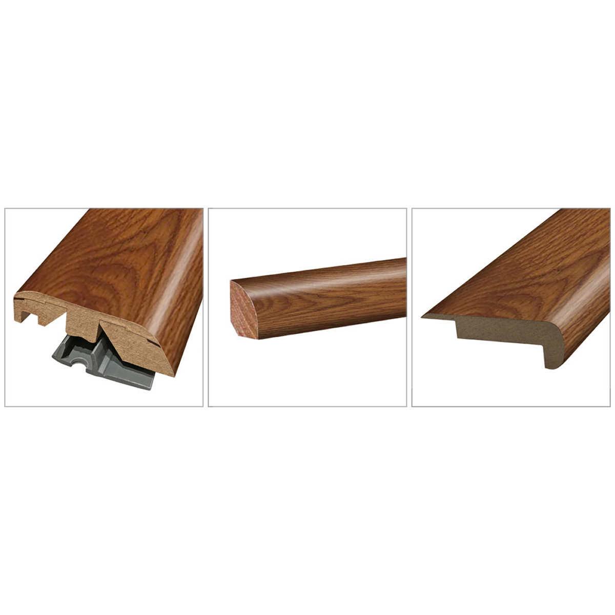 Mohawk Home Rustic Spiced Oak Laminate Flooring Accessory