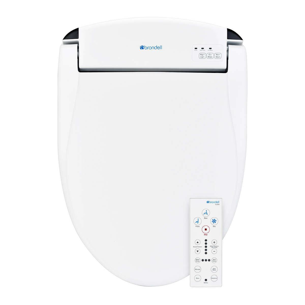 Brondell Swash Cl950 Bidet Toilet Seat