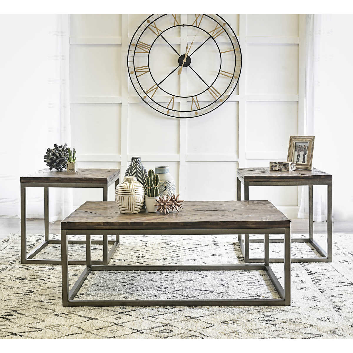 Acadia 3 Piece Occasional Table Set
