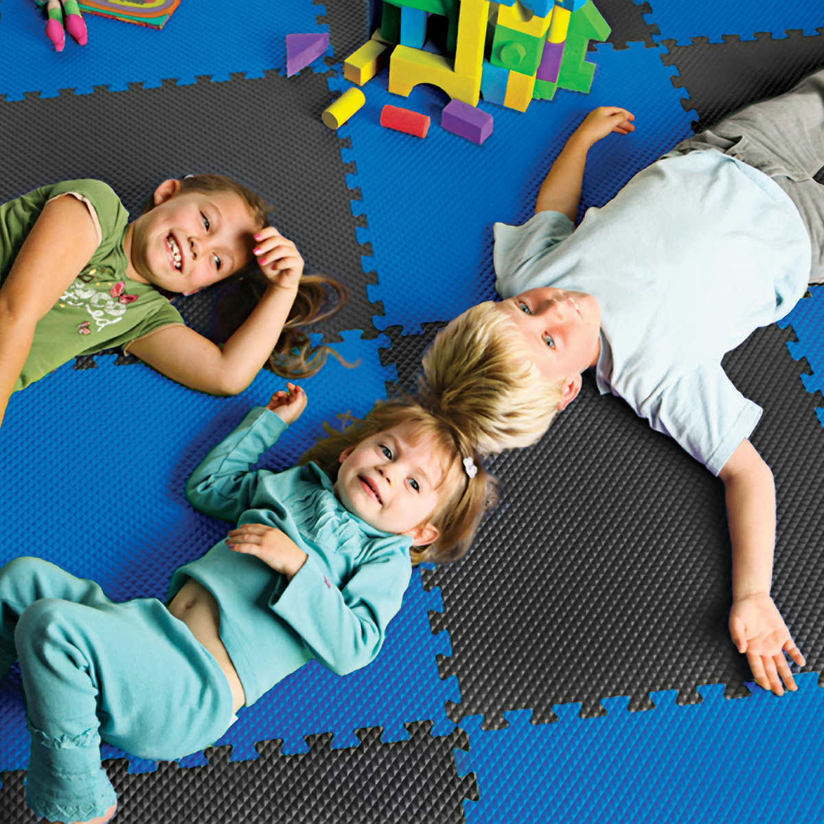 """100 SQFT 3//4/"""" THICK SAFETY FOAM PLAY MATS ANTI-FATIGUE FLOORING EXERCISE PUZZLE"""