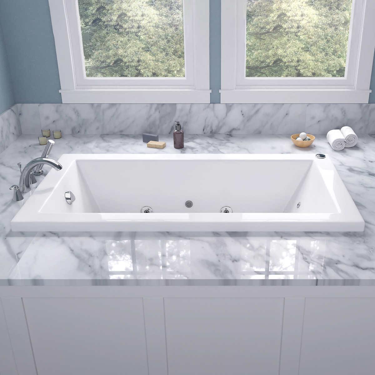 Access Tubs Venetian Dual System Bathtub Whirlpool Air Massage Therapy