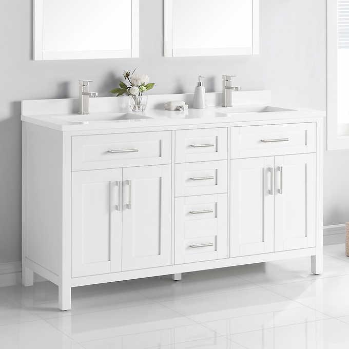 Ove Decors Lakeview 60 Vanity Costco, Ove Bathroom Vanities Costco