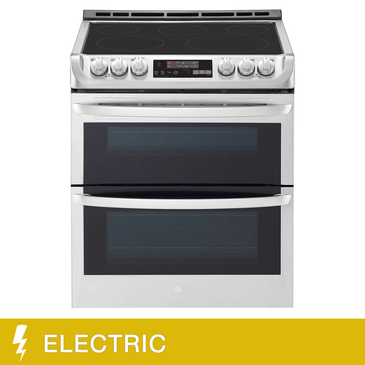 Lg 7 3cuft Wi Fi Enabled Electric Double Oven Range With Probake Convection