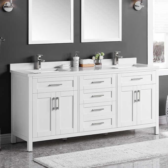 Ove Decors Lakeview 72 Vanity Costco, Ove Bathroom Vanities Costco