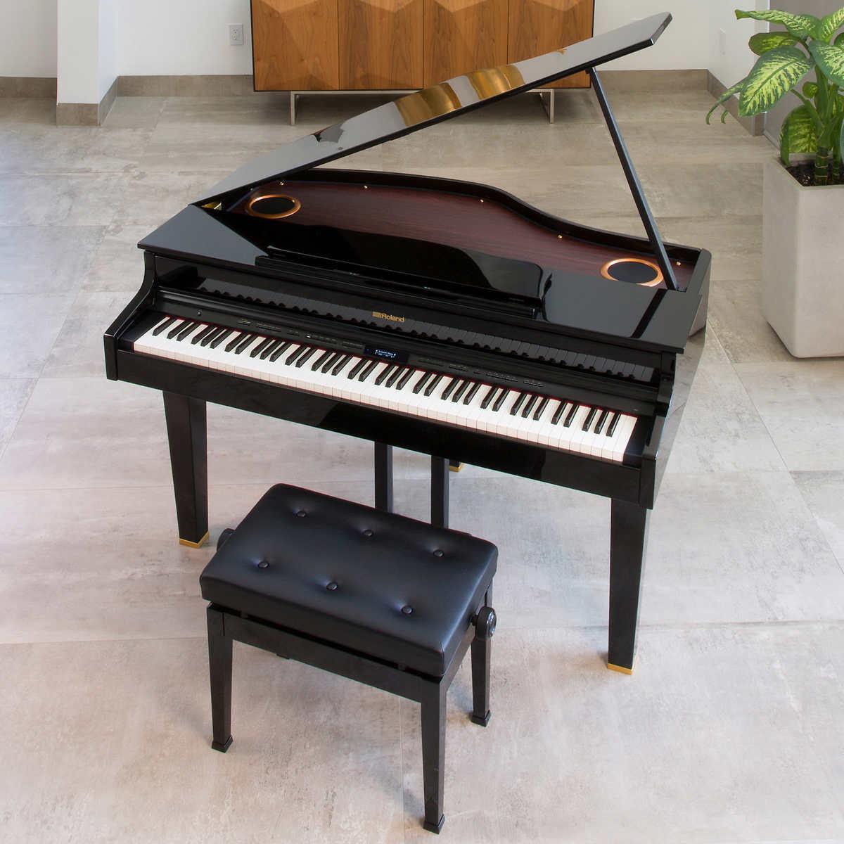 Roland CG-1 Mini Grand Digital Piano Bundle