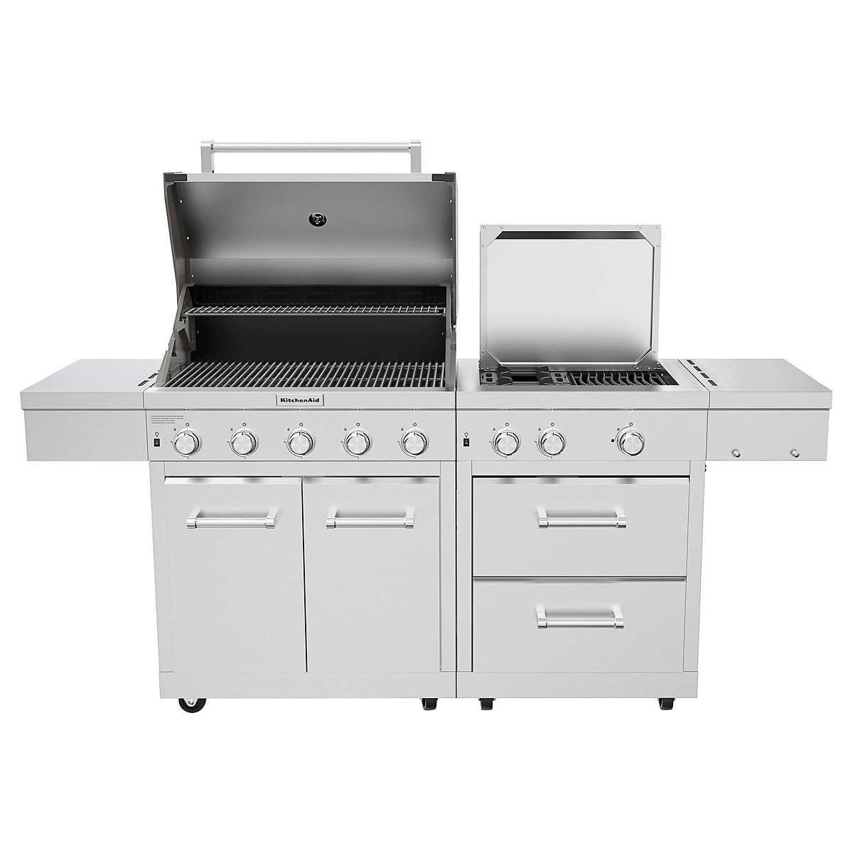 Kitchenaid Stainless Steel 8 Burner Grill