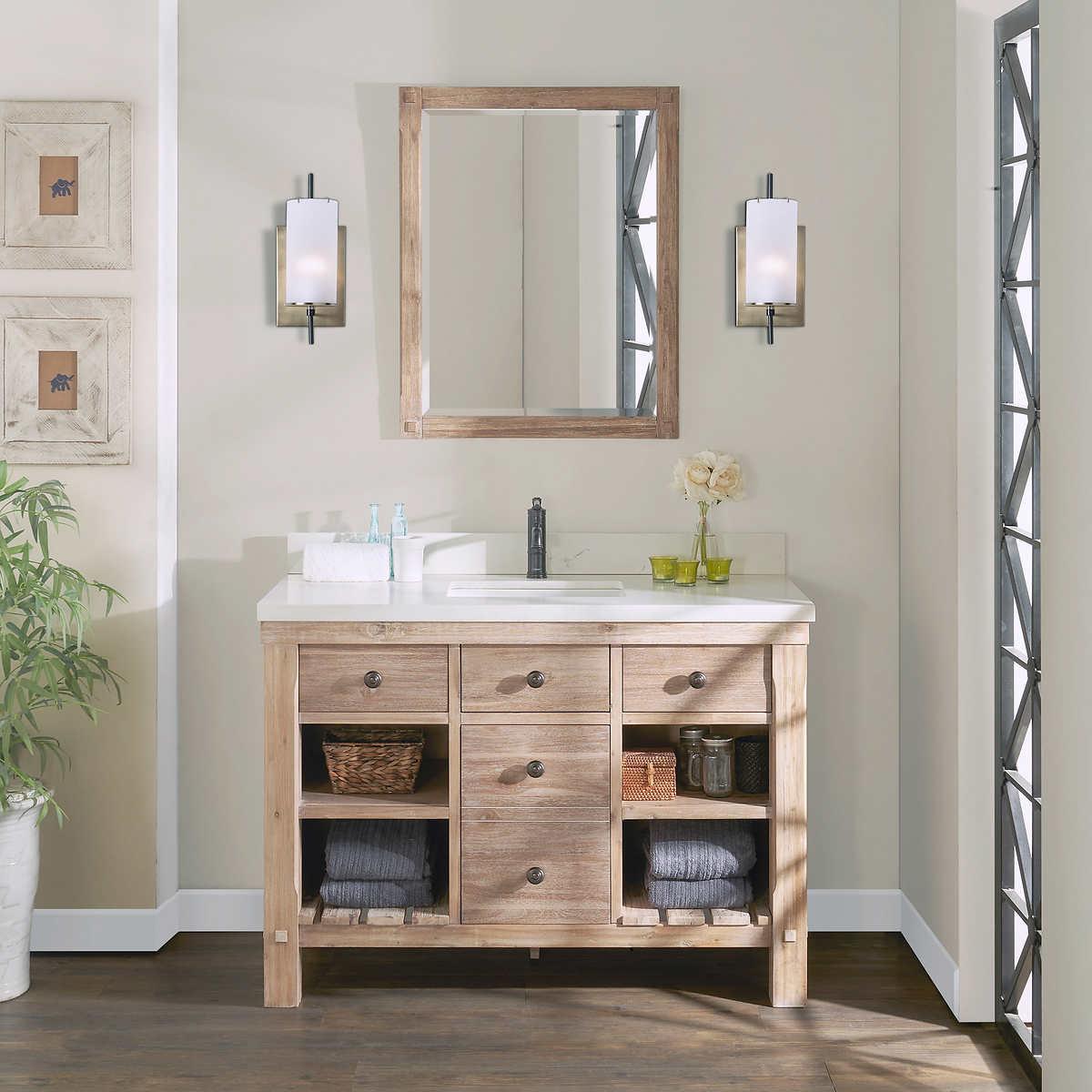 Elbe Rustic 48 Single Sink Vanity By Northridge Home Costco