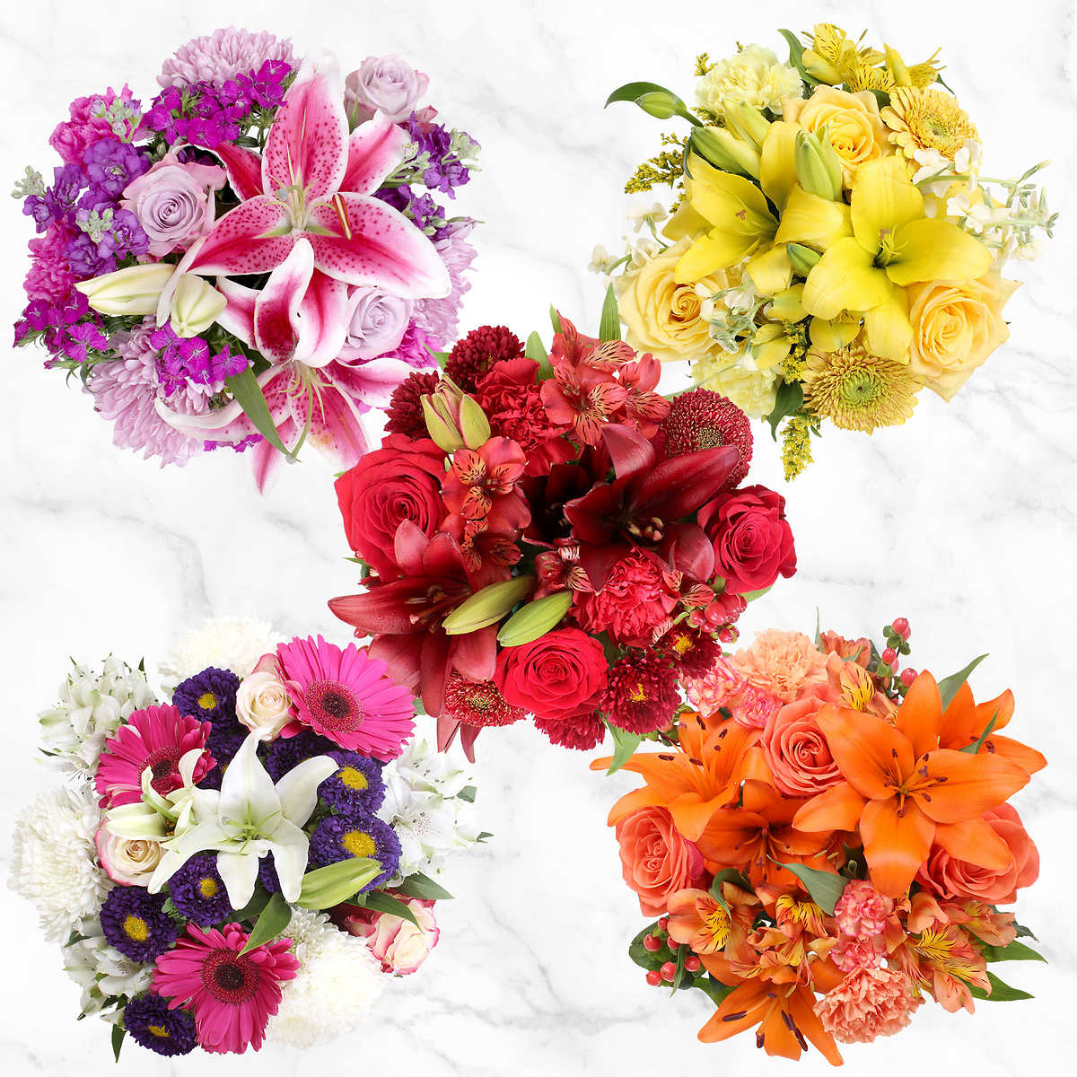 10 Count Mountain Bouquets