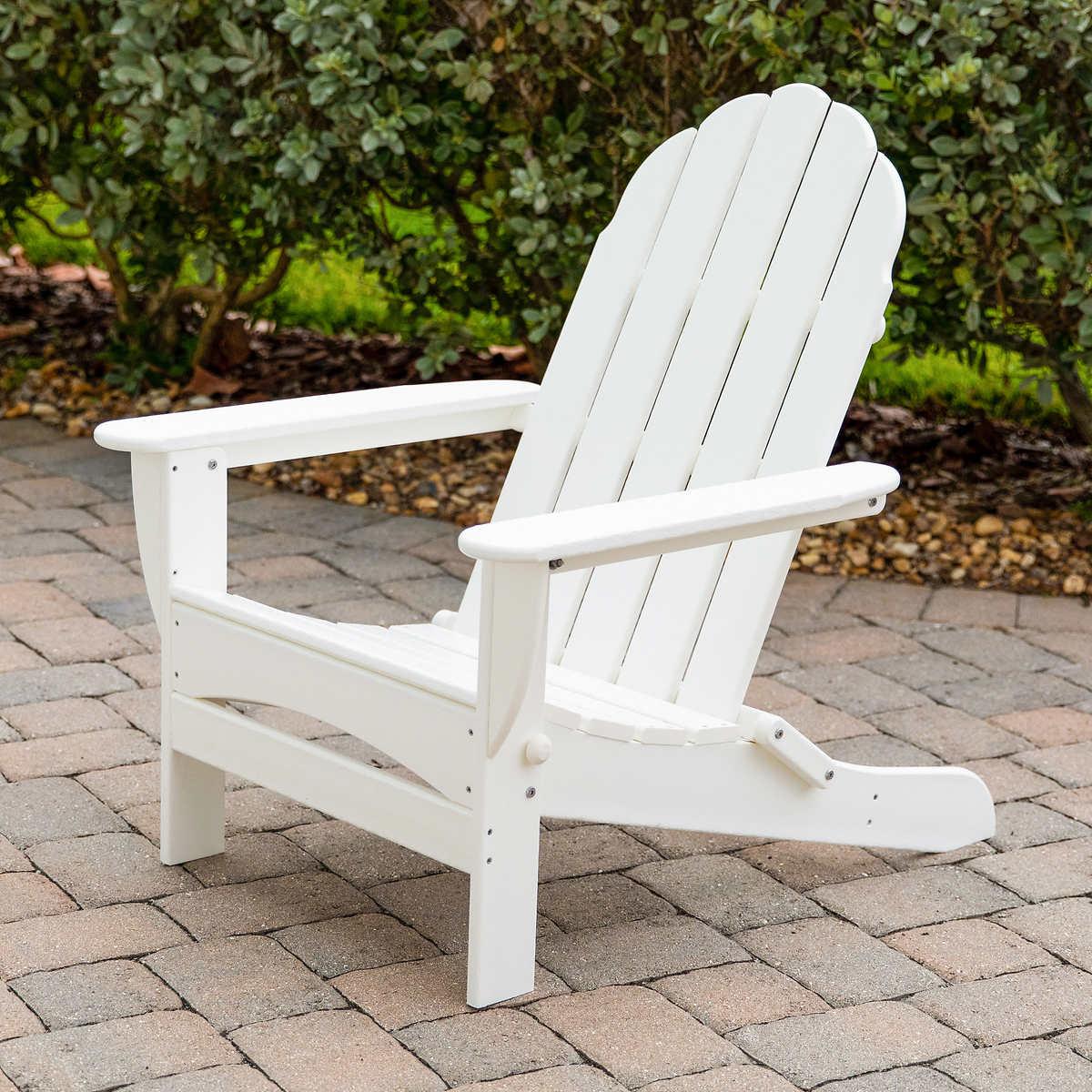 Long Beach Folding Adirondack Chair