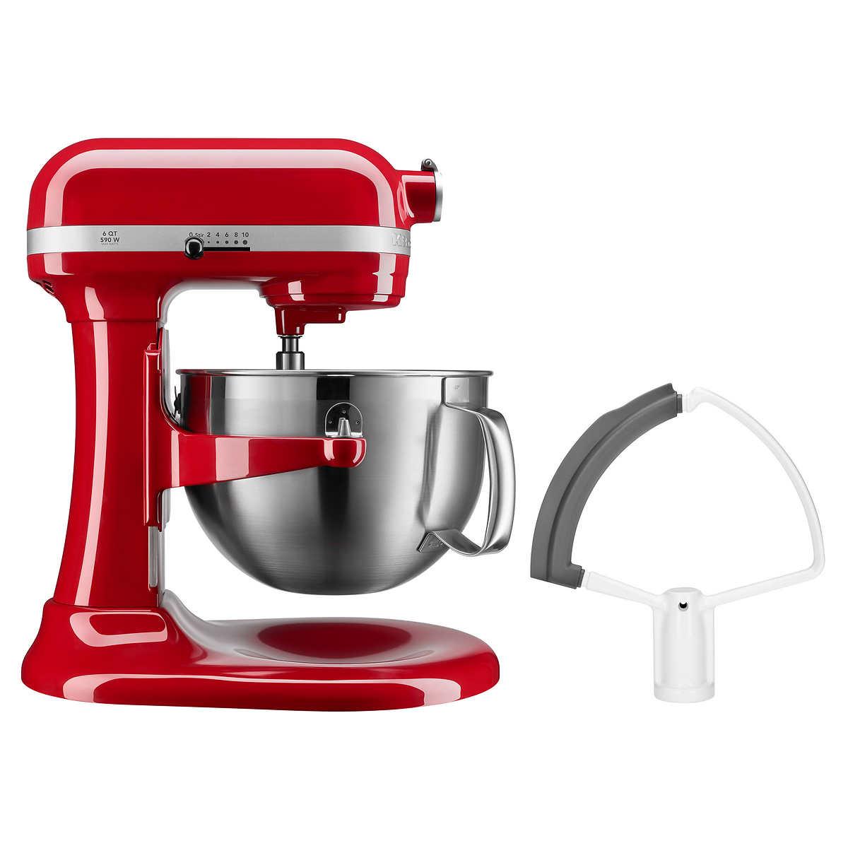 Kitchenaid Professional Series 6 Quart Bowl Lift Stand Mixer With Flex Edge Costco