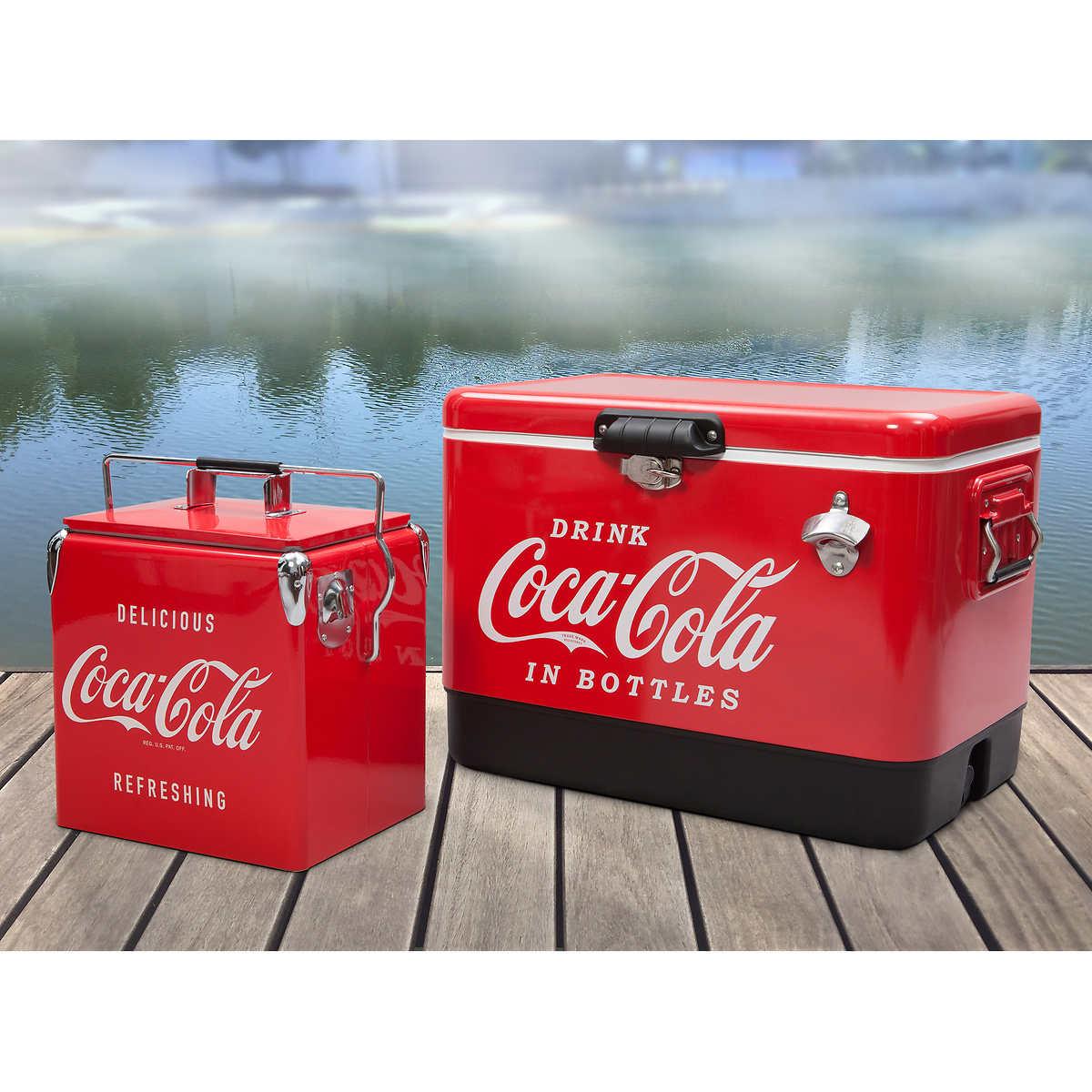 COCA COLA BOTTLE DESIGN VINTAGE RETRO COKE WINE COOLER JACKET
