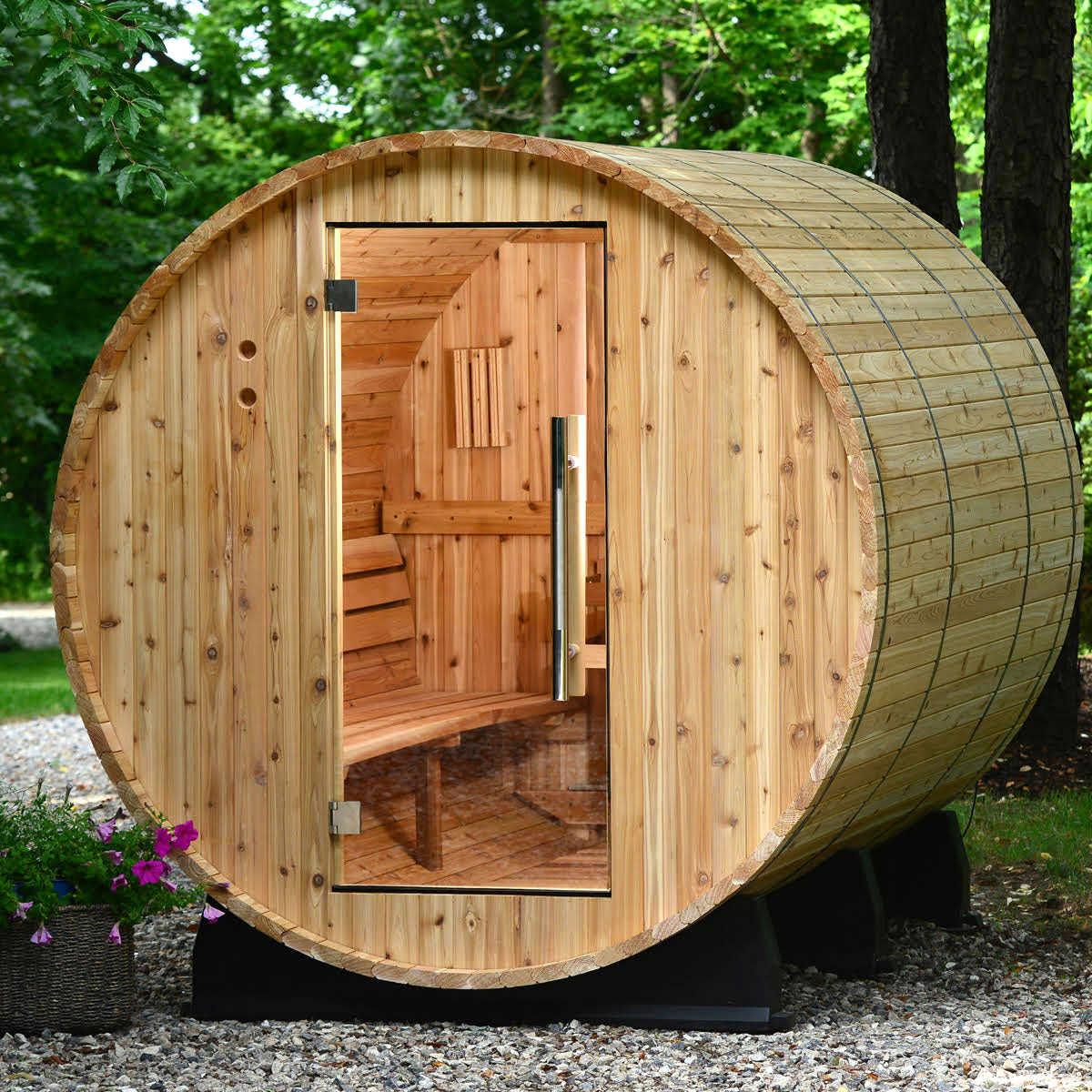Home Sauna Kits Since 1974 almost heaven fayette 6-person steam sauna