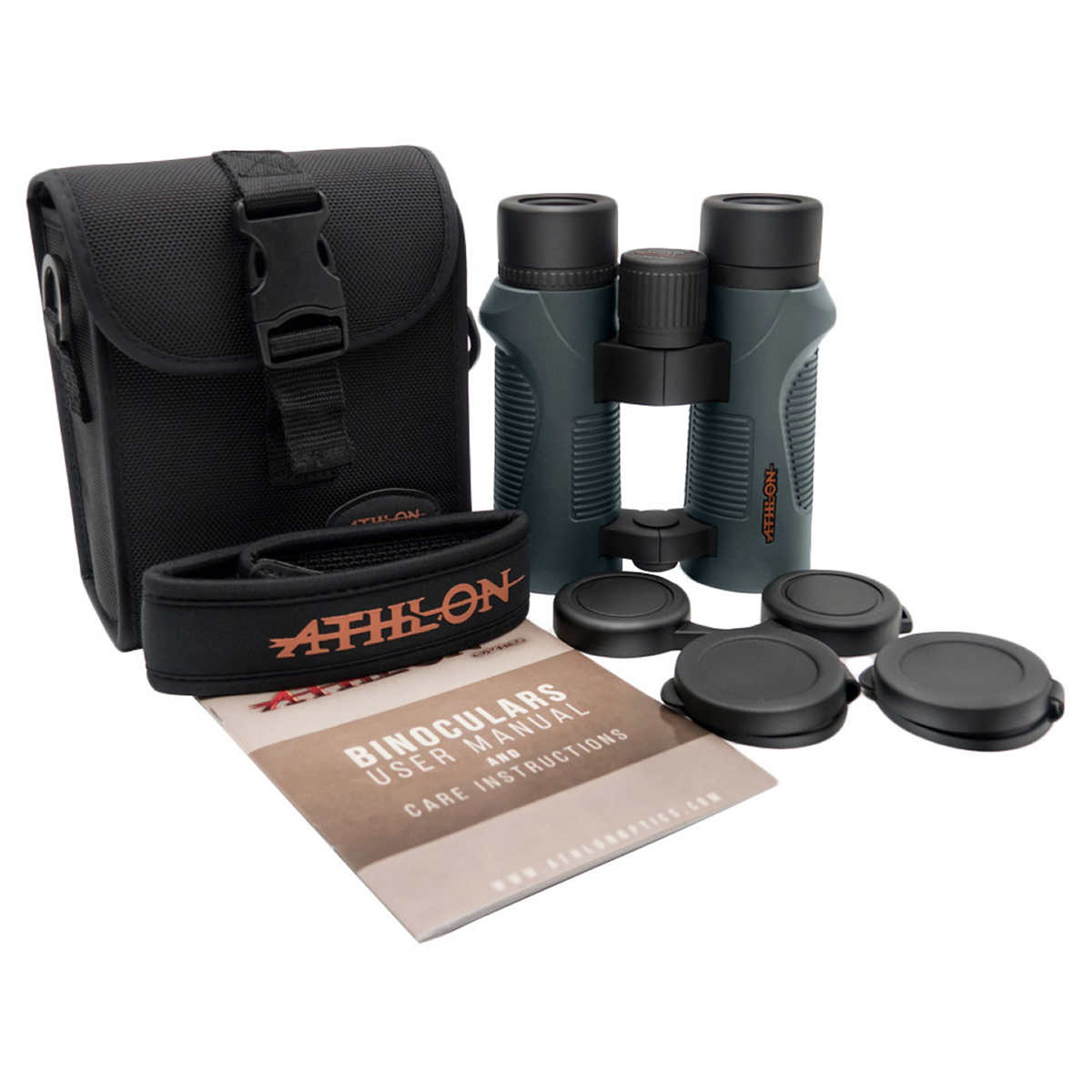 Athlon Argos 10x42 Binocular With Harness