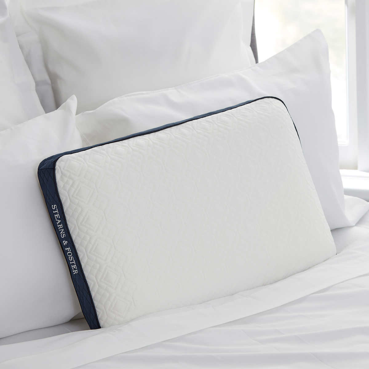 Stearns Foster Memory Foam Pillow With Cool Touch Cover