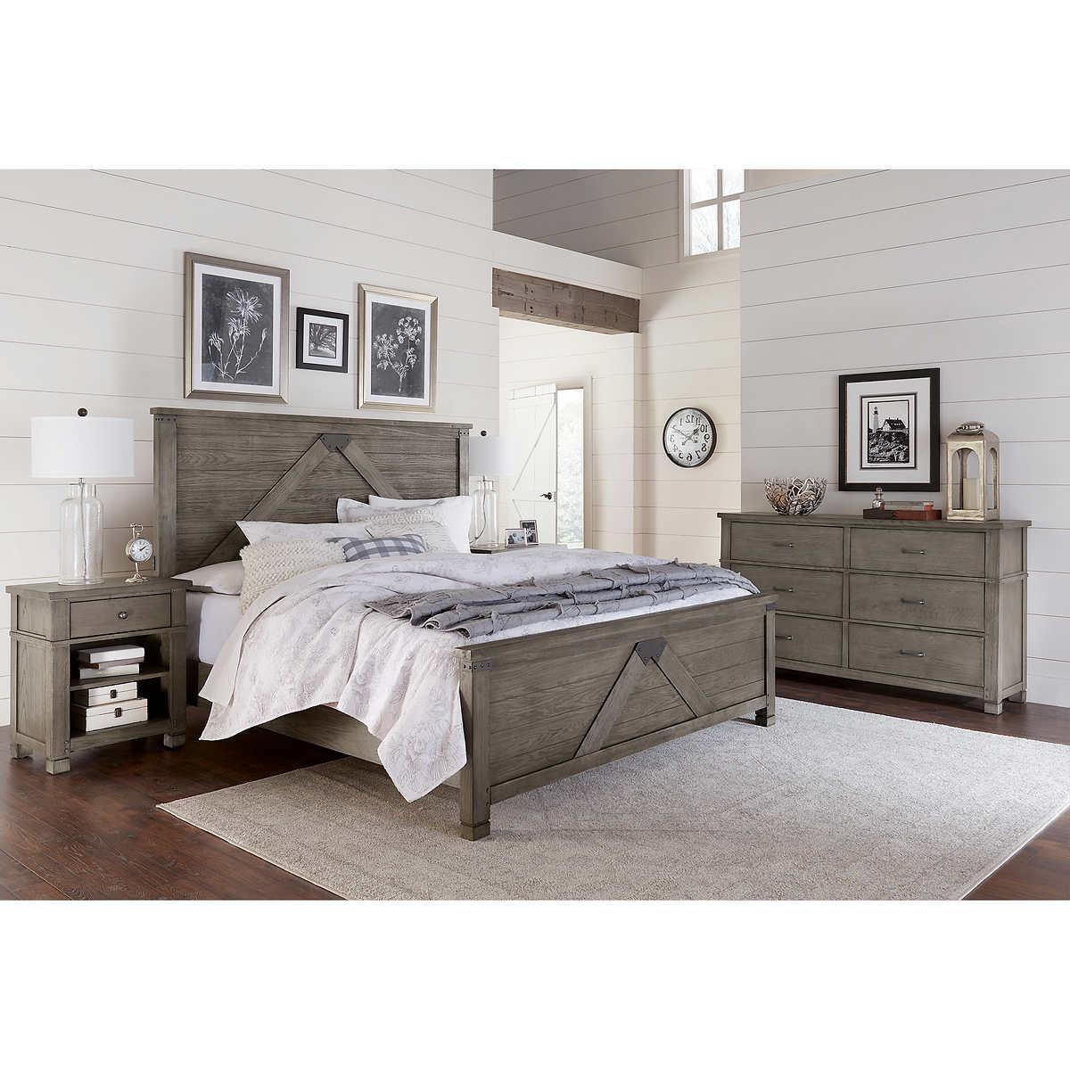 East Lake 4 Piece King Bedroom Set
