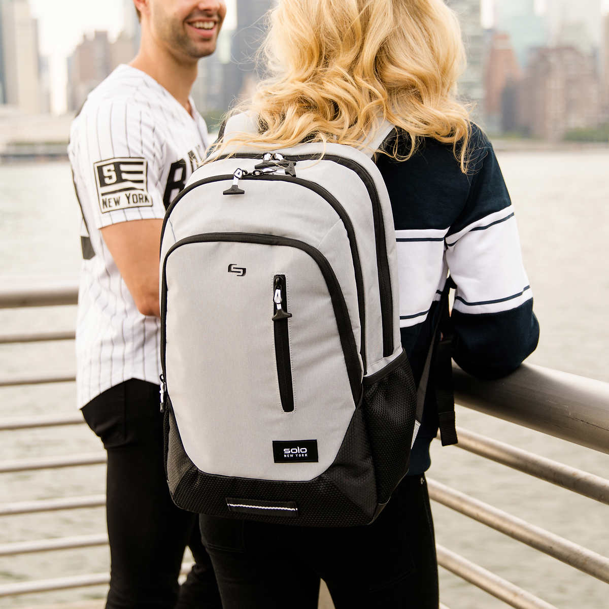 SOLO Draft Backpack 2 Colors Business /& Laptop Backpack NEW