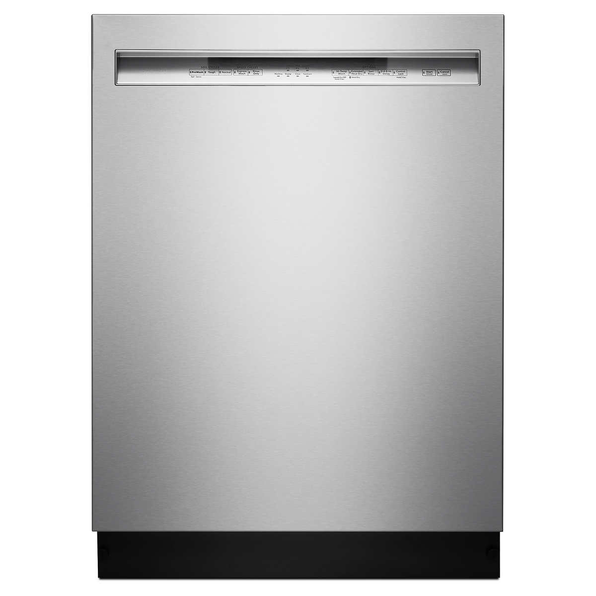 Kitchenaid Front Control Dishwasher With Prowash Cycle Durable Stainless Steel Interior