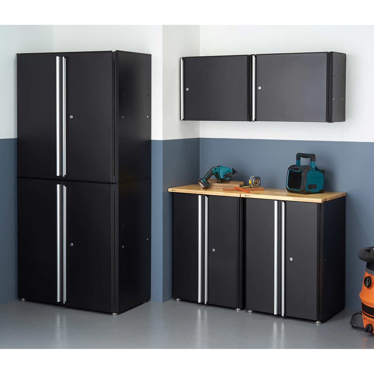 Trinity 6 Piece Garage Cabinet Set