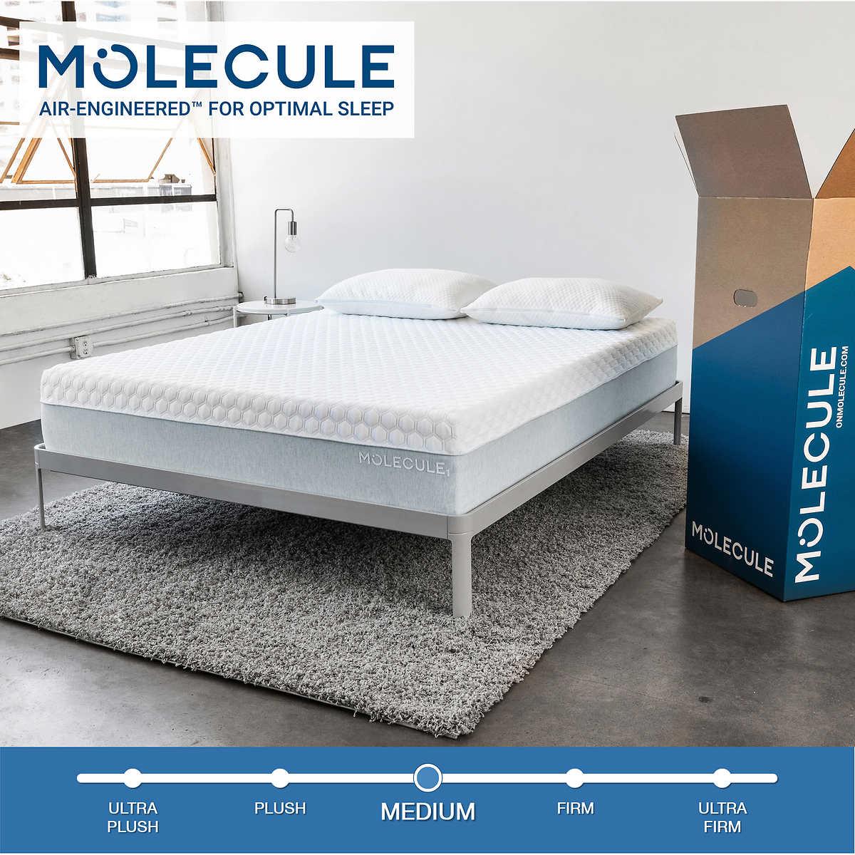 Molecule 1 Air Engineered 12 Memory Foam Queen Mattress