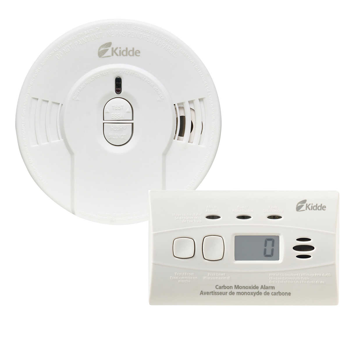 Kidde Battery Operated Smoke Alarm Carbon Monoxide Alarm